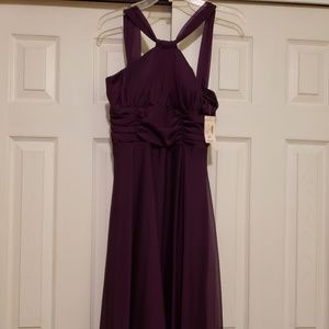 New w/ tag Purple iridescent party dress